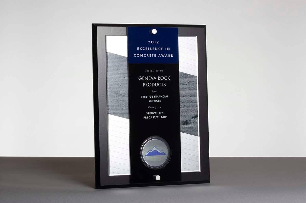 2019 Excellence in Concrete Award ACI Prestige Financial Services