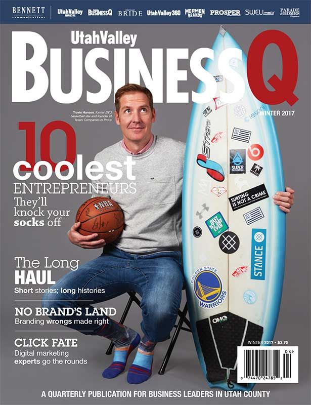 Geneva Rock featured in Utah Valley BusinessQ Magazine