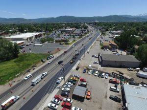 Heber US-40 Main Street asphalt paving