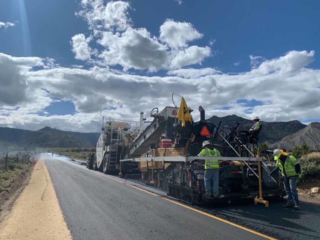 Hiawatha Utah asphalt paving
