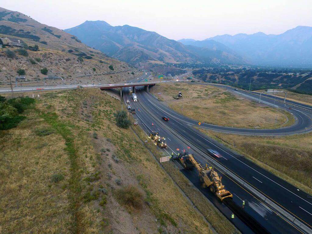 I-80 East side asphalt project