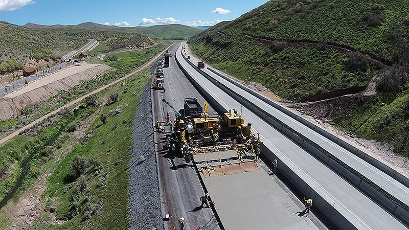 Ready mixed concrete specified to meet UDOT standards