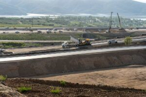 Asphalt Paving at the Mayflower Resort in Wasatch County near Park City