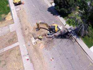 Orem City, Utah Water line replacement