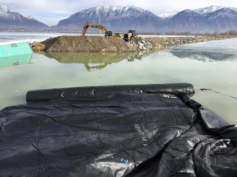 Dredging Utah Lake Provo Marina
