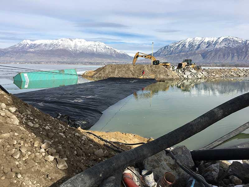 Dredging Provo Marina Utah Lake