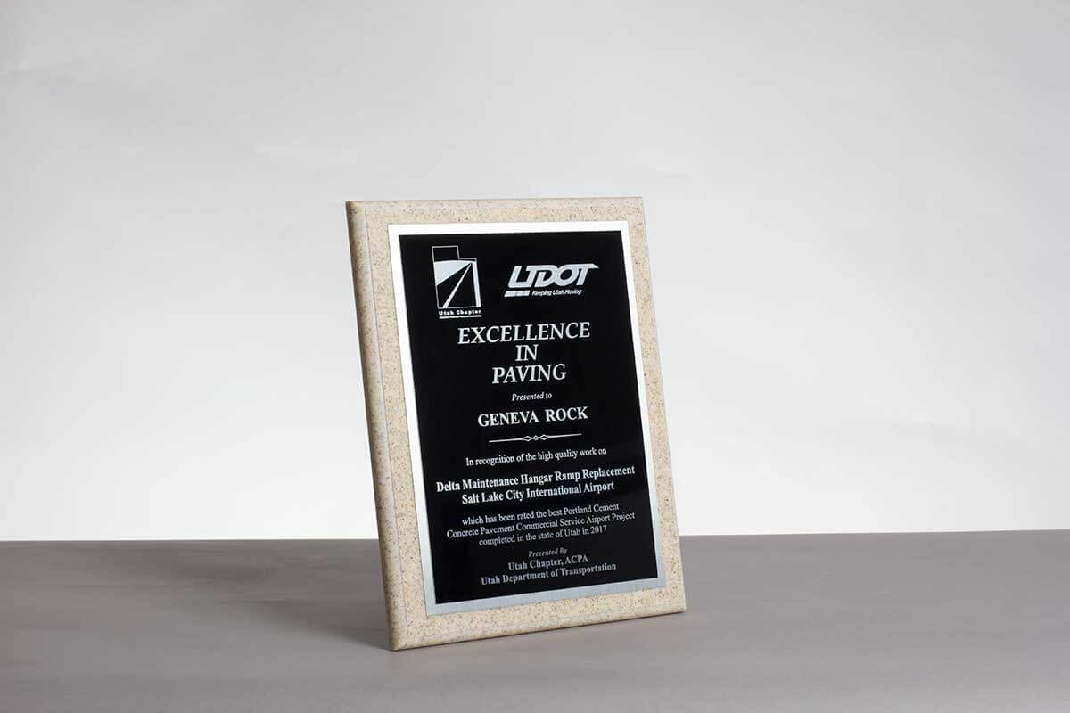 2017 Excellence in Paving UDOT