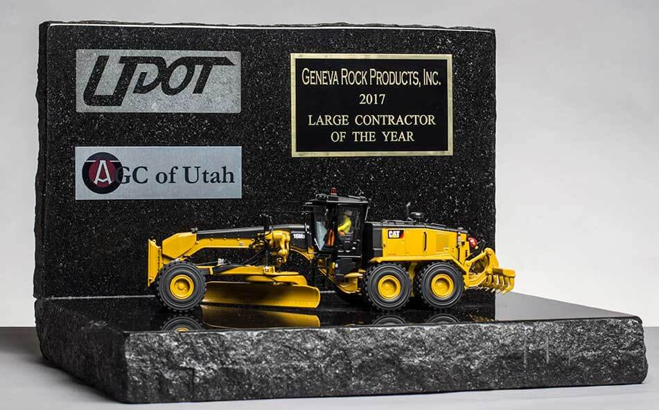 UDOT & AGC of Utah 2017 Large Contractor of the Year