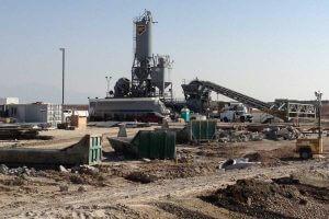 UPS facility ready-mix concrete