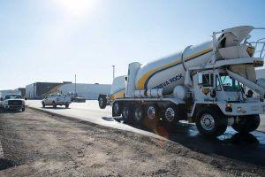 UPS facility concrete paving