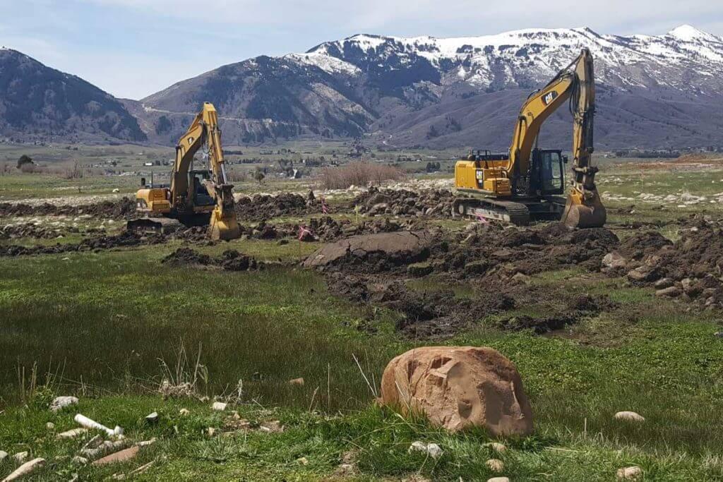 Eden Escape Development excavation
