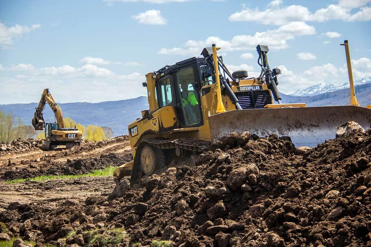 Eden Escape Development earthwork bulldozer