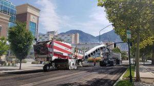 Provo Utah center street paving asphalt