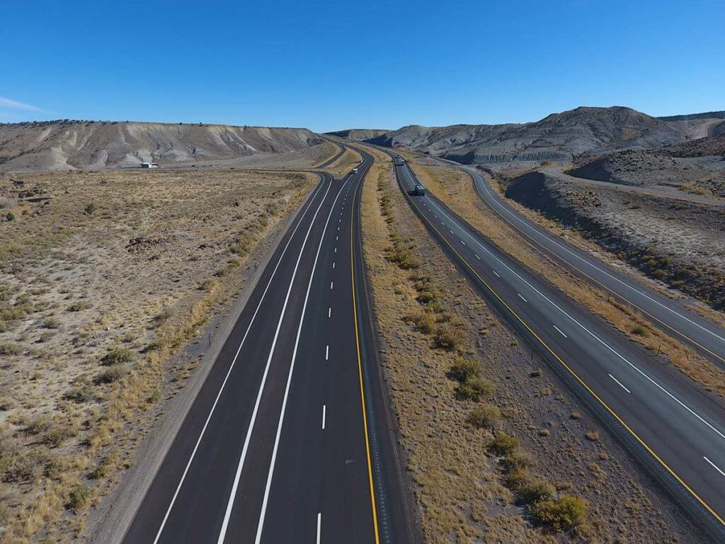 I-70; Emery County Microsurfacing