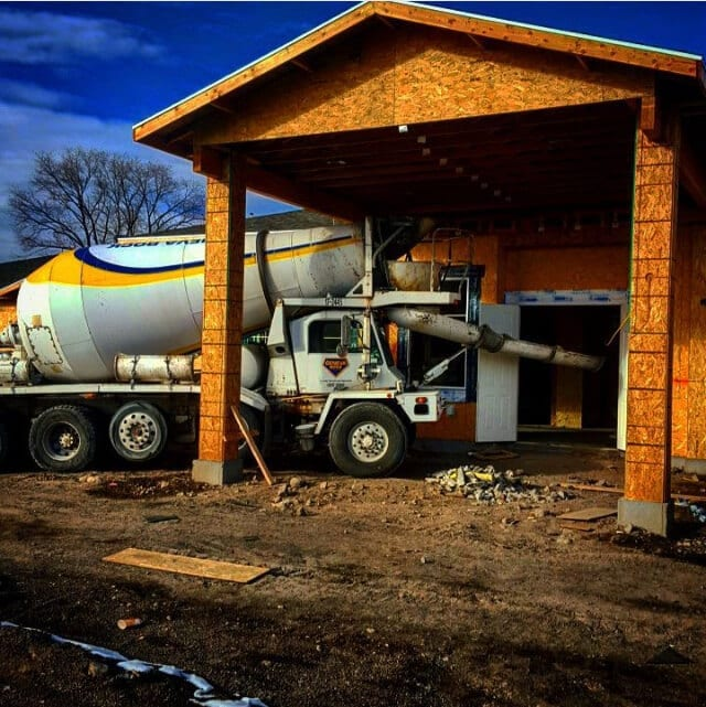 contractor concrete delivery