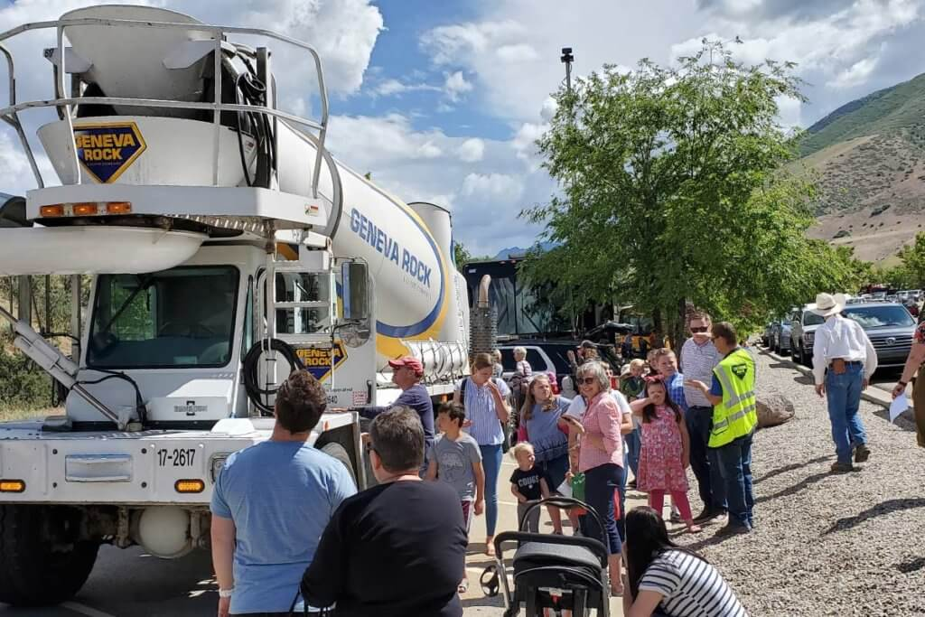 Big Truck Day allows children to see real heavy equipment up close