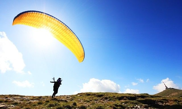 National Paragliding Competition at Point of the Mountain