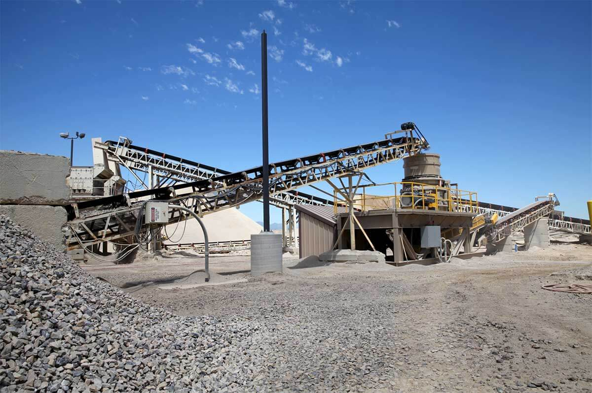 Geneva Rock is Utah's leading producer of aggregates, sand and gravel