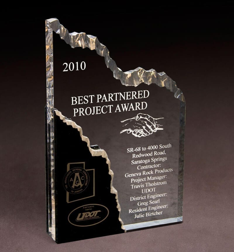 2010 Best Partnered Project – UDOT