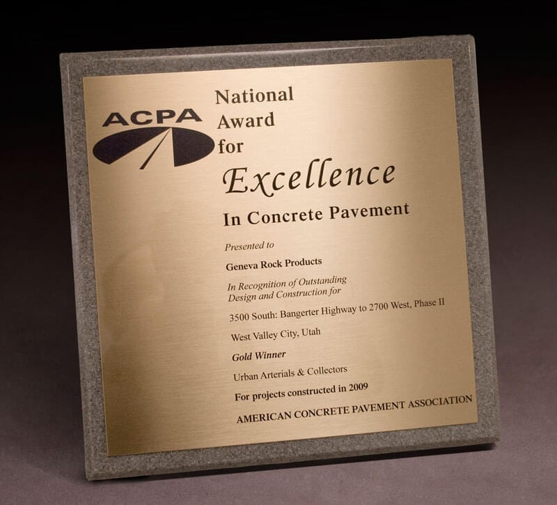 2009 National Award for Excellence – ACPA