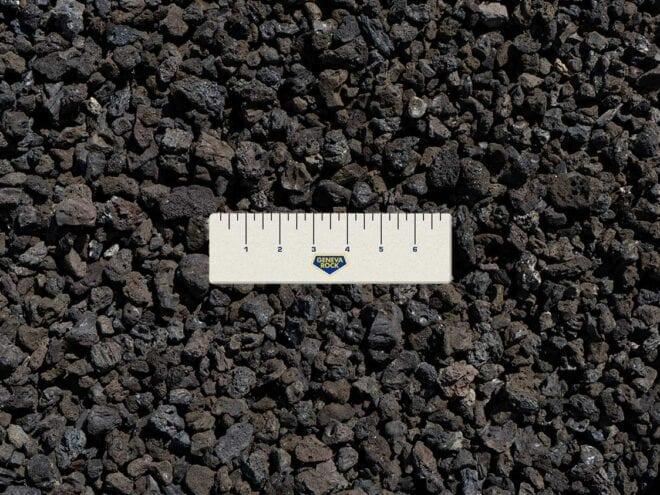 Black Lava Rock for Landscaping