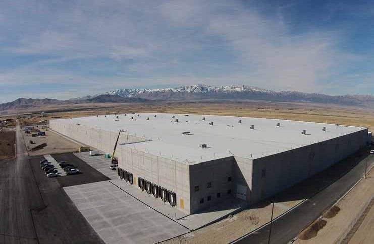 Housing The Outfitter: Cabela's Tooele Warehouse