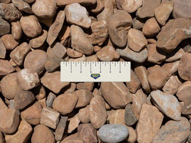 Decorative Cobble Stone Rock 3/4- 2 inch