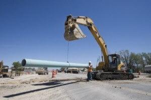 Construction Excavator, Construction Services, Utah Constriction Company