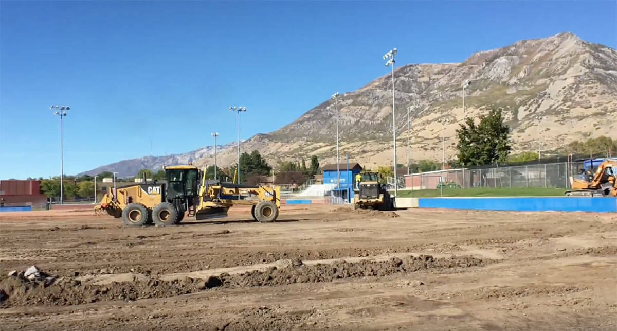 BYU baseball field