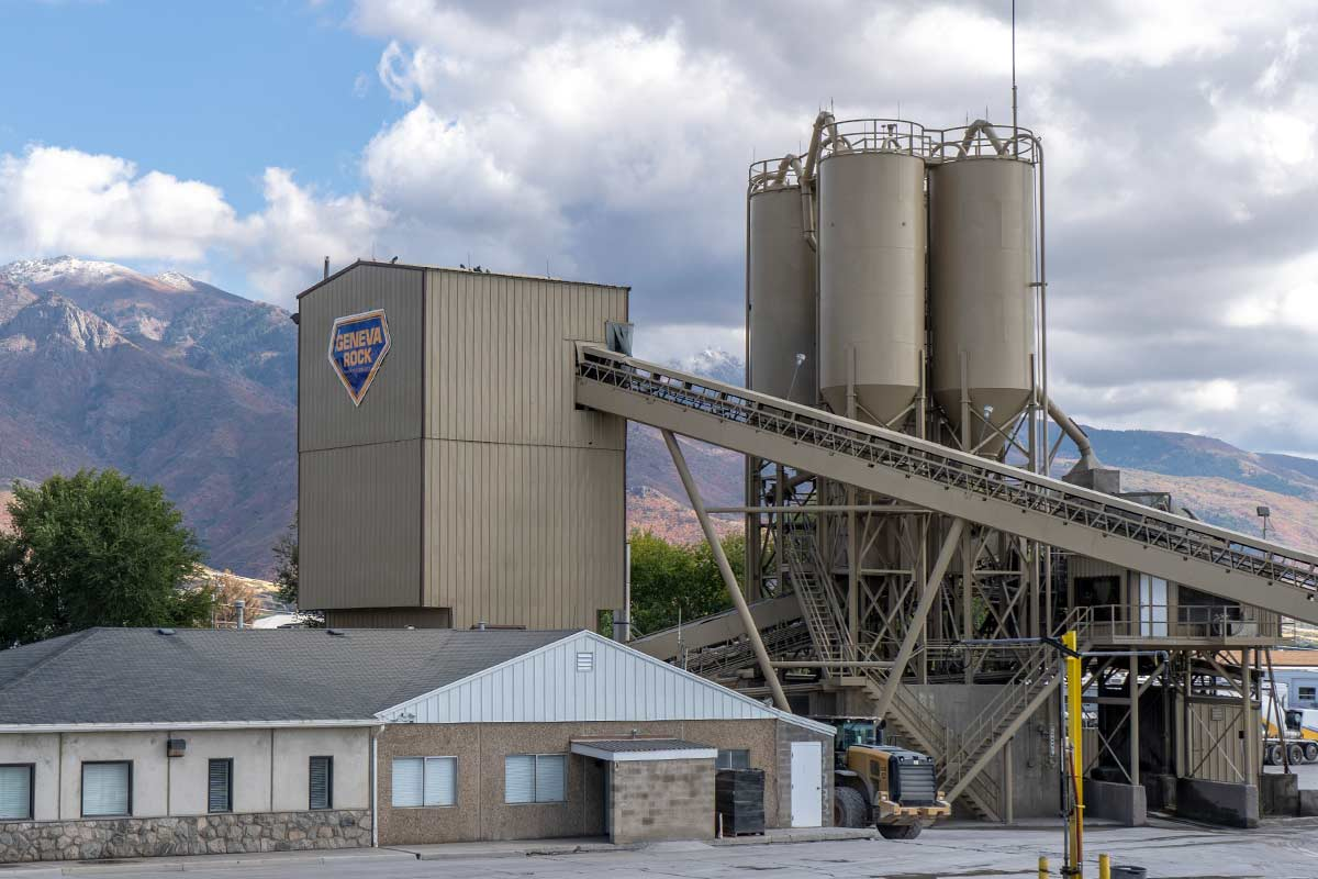 Layton Utah Ready-Mix Concrete Facility